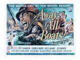 Away All Boats, Jeff Chandler, George Nader, 1956 Billeder