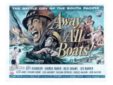 Away All Boats, Jeff Chandler, George Nader, 1956 Photo