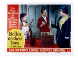 Belles on their Toes, Lobby Card, Debra Paget, Hoagy Carmichael, Myrna Loy, 1952 Billeder