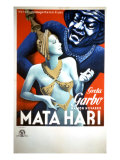 Mata Hari, Greta Garbo, 1931 Prints