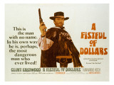 Fistful of Dollars, Clint Eastwood, 1964 - Reprodüksiyon