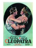 Cleopatra, Thurston Hall, Theda Bara, 1917 Print