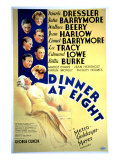 Dinner at Eight, with Marie Dressler, John Barrymore, Wallace Beery, and Lionel Barrymore, 1933 Photo