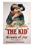 The Kid, Jackie Coogan, Charles Chaplin, 1921 Posters