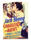 Charley's Aunt, Jack Benny, Kay Francis, 1941 Posters