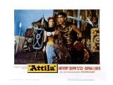 Attila, Sophia Loren, Anthony Quinn, 1954 Posters