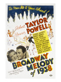 Broadway Melody of 1938, Eleanor Powell, Robert Taylor, 1937 Posters