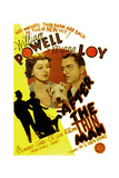After the Thin Man, Myrna Loy, Asta, William Powell, 1936 Prints