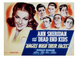 Angels Wash their Faces, Ann Sheridan, Huntz Hall, Bernard Punsly, Frankie Thomas, Leo Gorcey, 1939 Posters