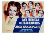 Angels Wash their Faces, Ann Sheridan, Huntz Hall, Bernard Punsly, Frankie Thomas, Leo Gorcey, 1939 Posters
