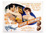 Easy Living, Victor Mature, Lizabeth Scott, Lucille Ball, Sonny Tufts, Lloyd Noaln, 1949 Photo