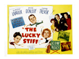 The Lucky Stiff, Brian Donlevy, Dorothy Lamour, Claire Trevor, 1949 Photo