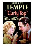 Curly Top, Shirley Temple, John Boles, 1935 Plakater