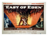 East of Eden, James Dean, Lois Smith, Julie Harris, Jo Van Fleet, 1955 Poster
