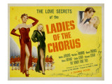 Ladies of the Chorus, Adele Jergens, Marilyn Monroe, 1948 Posters