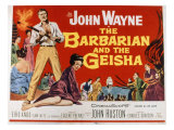 The Barbarian and the Geisha, John Wayne, Eiko Ando, 1958 Posters
