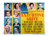 Executive Suite, William Holden, June Allyson, Barbara Stanwyck, and Fredric March, 1954 Posters