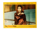 The Naked Maja, Ava Gardner, 1958 Posters
