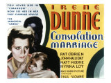 Consolation Marriage, Irene Dunne, Pauline Stevens, 1931 Láminas