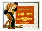 Love Is a Many-Splendored Thing, William Holden, Jennifer Jones, 1955 Photo