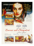 Caesar and Cleopatra, Vivien Leigh, 1945 Pósters