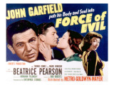 Force of Evil, John Garfield, Beatrice Pearson, Marie Windsor, 1948 Photo