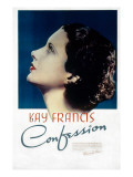 Confession, Kay Francis, 1937 Prints