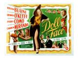Doll Face, Carmen Miranda, Dennis O'Keefe, Vivian Blaine, Martha Stewart, Perry Como, 1945 Photo
