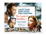 Farmer's Daughter, Joseph Cotton, Loretta Young, 1947 - Resim