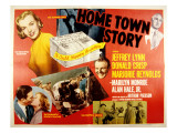 Hometown Story, Marilyn Monroe, Jeffrey Lynn, Marjorie Reynolds, Alan Hale Jr., Donald Crisp, 1951 Prints