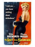 The Lady from Shanghai, Rita Hayworth, 1947 Prints