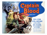 Captain Blood, Olivia De Havilland, Errol Flynn, 1935 Posters