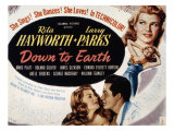 Down to Earth, Rita Hayworth, Larry Parks, 1947 Photo