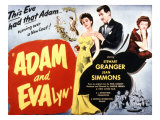 Adam and Evelyne, Jean Simmons, Stewart Granger, Helen Cherry, 1949 Posters