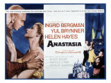 Anastasia, Yul Brynner, Ingrid Bergman, 1956 Photo