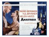 Anastasia, Yul Brynner, Ingrid Bergman, 1956 Print