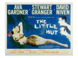 The Little Hut, Ava Gardner, Stewart Granger, David Niven, 1957 Photo