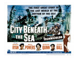 City Beneath the Sea, Robert Ryan, Mala Powers, Anthony Quinn, Suzan Ball, 1953 Prints