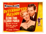 Interrupted Melody, Eleanor Parker, Glenn Ford, 1955 Photo