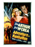 Adventure in Manhattan, Jean Arthur, Joel Mccrea, 1936 Photo