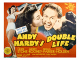Andy Hardy's Double Life, Esther Williams, Mickey Rooney, Ann Rutherford, 1942 Plakater