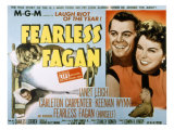 Fearless Fagan, Carleton Carpenter, Janet Leigh, Keenan Wynn, 1952 Photo