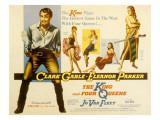 The King and Four Queens, Clark Gable, Barbara Nichols, Sara Shane, Jean Willes, Eleanor Parker Prints