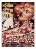 Niagara, Marilyn Monroe, 1953 Affiches