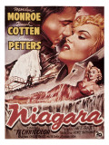 Niagara, Marilyn Monroe, 1953 Posters