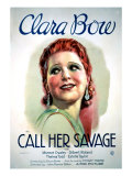 Call Her Savage, Clara Bow, 1932 Posters