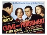 Crime and Punishment, Edward Arnold, Tala Birell, Peter Lorre, Marian Marsh, 1935 Prints