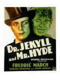 Dr. Jekyll and Mr. Hyde Featuring Fredric March, 1931 Prints
