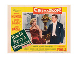 How to Marry a Millionaire, Marilyn Monroe, Alex D'Arcy, 1953 Prints