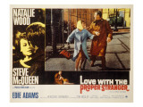Love with the Proper Stranger, Natalie Wood, Steve McQueen, 1963 Prints